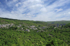 Village of Zagoria Epirus Greece Stock Image