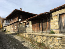 The village Zheravna. Beautiful old house in the village Zheravna of Bulgaria stock photos