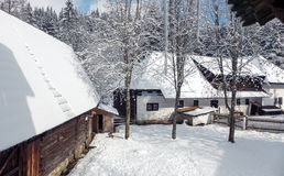 Village Zuberec, Slovakia Stock Image