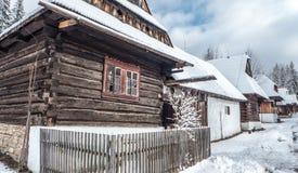 Village Zuberec, Slovakia Stock Images