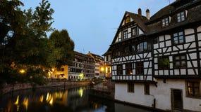 Villagel nello strasburg immagine stock libera da diritti