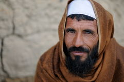 Villager in Afghanistan Royalty Free Stock Images