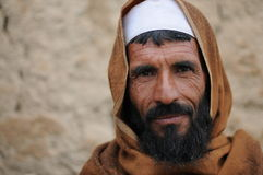 Villager in Afghanistan. Inhabitant of the Altimur village, Logar Province, Afghanistan, summer 2011 Stock Photos