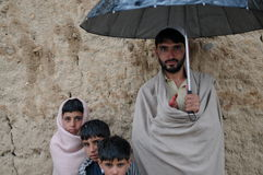 Villagers in Afghanistan royalty free stock photography