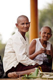 Villagers in Kampuchea Royalty Free Stock Photos