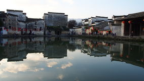 Villages antiques de Hongcun Photo stock