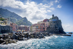 Villages on coast of La Spezia province in Liguria, Italy. Browse my gallery for more images from Italy Stock Images
