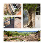 Villages and countryside Royalty Free Stock Images