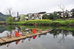 villages de 1 Chinois Image libre de droits