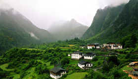 Villages de Yu-Beng Images stock