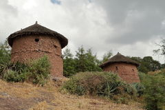 Villages and farms in Ethiopia Stock Photography