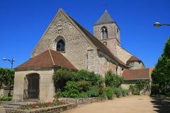 Villages français : Limetz-Villez Images stock