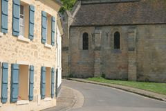 Villages of France stock photography
