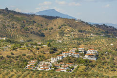 Villages in Malaga province, Andalucia, Spain stock photo