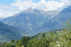 Villages in the Meran Country, Italy Stock Photography