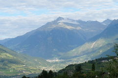 Villages in the Meran Country, Italy Royalty Free Stock Photo
