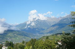Villages in the Meran Country, Italy Stock Image