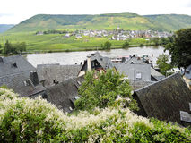 Villages on Moselle river, Germany Stock Images