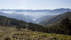 Villages of the Peneda Mountain Stock Photography