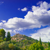 Villages in the Provence Stock Image