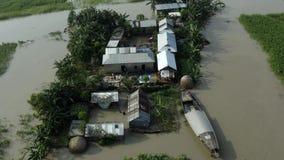 Villages are submerged underwater