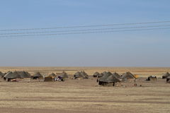 Villages in the Sudan Stock Images