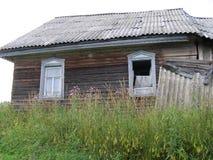 Villaggi abbandonati Fotografia Stock