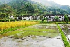 Villaggi antichi cinesi Immagine Stock Libera da Diritti