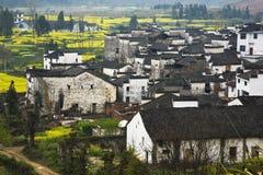 Villaggi antichi cinesi Immagini Stock
