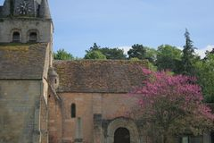 Villaggi della Francia Immagini Stock Libere da Diritti