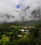 Villaggi di Yu-Beng Fotografia Stock Libera da Diritti