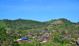 Villaggi rurali Immagini Stock