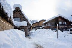 Villaggi storici del  e di Gokayama di Shirakawa-gÅ Fotografia Stock Libera da Diritti
