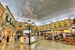 Villaggio购物中心在多哈 免版税库存照片