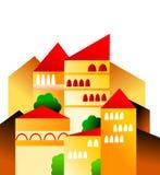 villaggio Royalty Illustrazione gratis