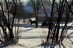 villaggio Fotografia Stock