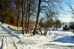 villaggio Immagine Stock