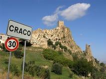 Villaggio abbandonato Immagini Stock Libere da Diritti