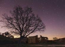 Villaggio abbandonato Fotografia Stock