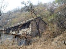 Villaggio abbandonato Fotografie Stock