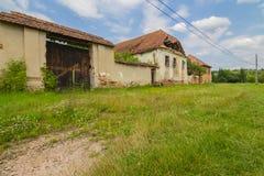 Villaggio abbandonato Fotografie Stock Libere da Diritti