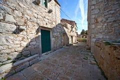 Villaggio abbandonato Croazia immagine stock libera da diritti