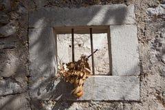 Villaggio abbandonato Croazia immagini stock