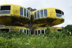 Villaggio abbandonato dello spazio Fotografia Stock