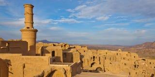 Villaggio abbandonato Khanrnaq Fotografia Stock Libera da Diritti