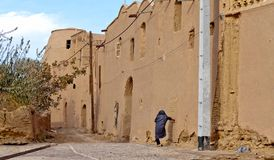 Villaggio abbandonato a Khanrnaq, Iran Fotografie Stock Libere da Diritti