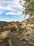 Villaggio abbandonato Vinicos di Marchalicos vicino a Turre fotografia stock