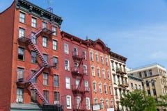 Villaggio ad ovest negli edifici di New York Manhattan Fotografia Stock Libera da Diritti