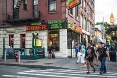 Villaggio ad ovest NYC Fotografia Stock