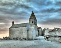 Villaggio adriatico Fotografia Stock